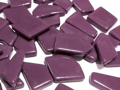 Purple Irregular Shaped Gloss Mosaic Glass Tiles - Art Craft Supplies