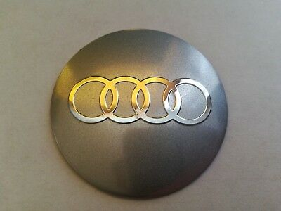 4pcs set 56mm Car Wheel Hub Caps Logo Emblem For Audi Wheel Center Caps Sticker
