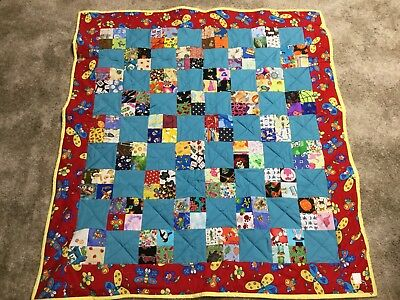 Baby Throw or crib quilt ISpy pattern