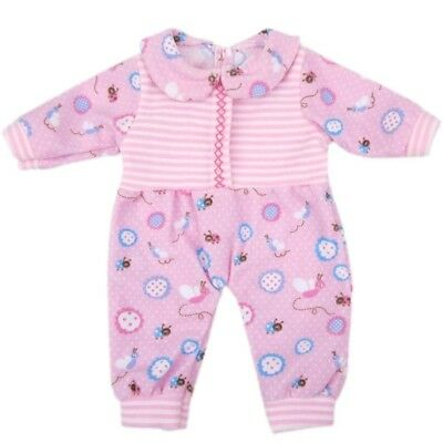 bitty bJy doll clothes, aoful cute lovely jumpsuit pyjamas outfit fits 36cm -