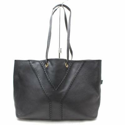 e1c776ff456b Saint Laurent Ysl Large Neo Double Reversible Black Leather Tote 869384