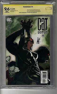 Catwoman (2002) # 75 - CBCS 9.6 WHITE Pages SS Adam Hughes - Joker Appearance