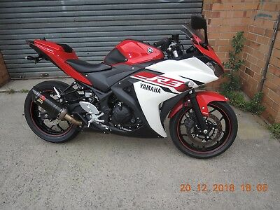Yamaha R3 2015 Red With Abs Runs Great Clear Title Lams Learner Acropovic  320