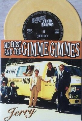 """Me First And The Gimme Gimmes Jerry East Bound & Down Coloured Vinyl 7"""""""