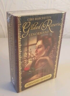 (01) Gilded Reverie Lenormand Expanded Edition, Ciro Marchetti - BOXED set - NEW