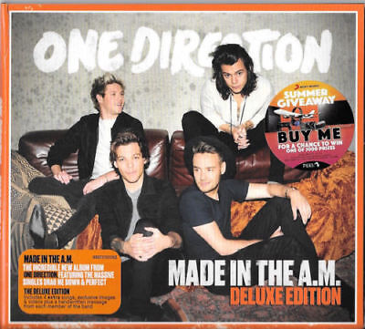 One Direction – Made In The A.M. CD Deluxe Edition Aust Digipak 4 EXTRA SONGS