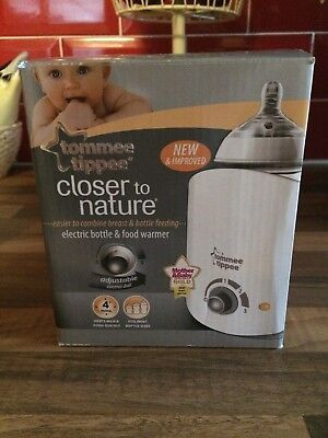 Tommee Tippee  Closer to Nature bottle and food warmer - NEW