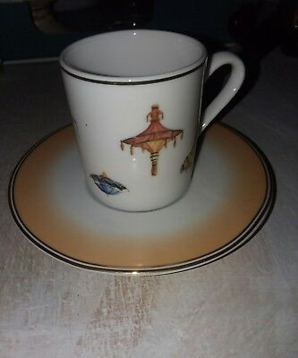 GOEBEL for Wynn Las Vegas Espresso set  CUP and  SAUCER