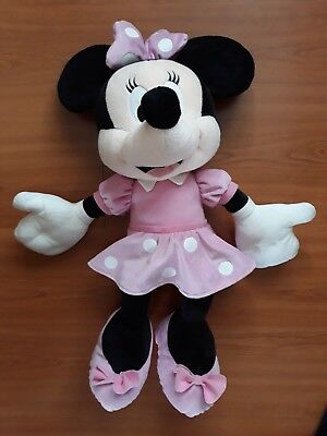 88285163d2974 DISNEY MINNIE MOUSE Moyenne Peluche 45cm - rose - EUR 59,42 ...