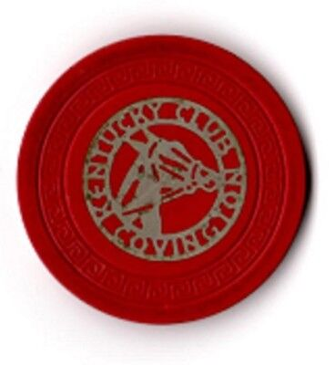 Kentucky Club Covington, KY - Illegal Gambling Casino Chip - Red Horse Head