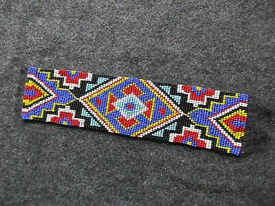 Beaded Head Band, Native American  Beaded Head Band,   Day-02545