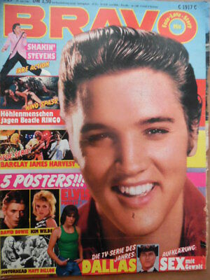 BRAVO 27 - 1981 (4) ELVIS Adam Ant Shaky Barclay Judas Priest DALLAS Ted Nugent