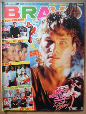 BRAVO 43 - 1988 (3) Patrick Swayze Milli Vanilli Wendy James BROS Pet Shop Boys