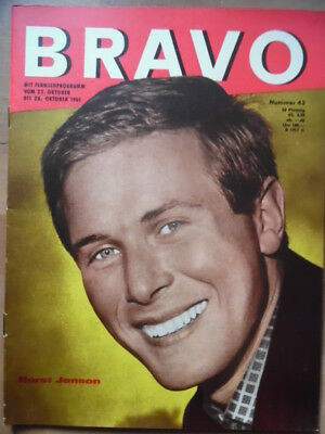 BRAVO 43 - 1961 (0) Horst Janson Doris Day Ted Herold Anthony Perkins Dr. Mabuse