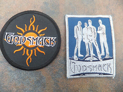 Lot of 2 NEW  Rock Band GODSMACK Collectible Patches Patch