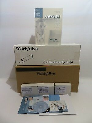 Welch Allyn Cardio Perfect Workstation Spirometer Spiro-S Kit 703554 Usb & Sw