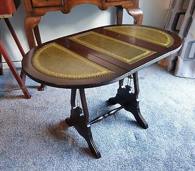 Victorian Style Mahogany Drop Leaf Table