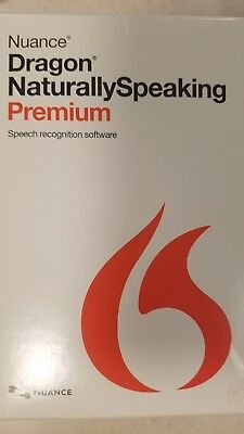 Nuance Dragon Naturally Speaking Premium 13 w/ Headset - New Sealed