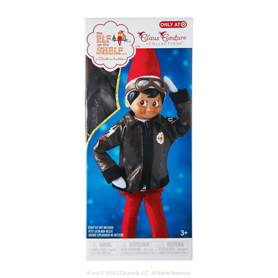 Elf On The Shelf Flurry Flight Jacket And Goggles Clothes Outfit Only New