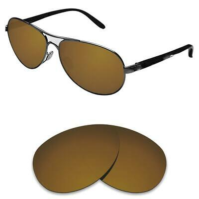 cea71b4f9fa NEW POLARIZED BRONZE REPLACEMENT LENS FIT RAY BAN RB3386 63mm SUNGLASSES