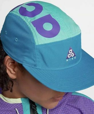 496ff22ee63e8 Unisex Nike 2018 ACG AW84 Adjustable Hat 100% Authentic AO2104-430 Neo Turk  New