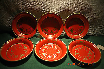Expo 67  Montreal, Canada  --  6 Coaster / Cup Holder Set!!!  Perfect Condition!