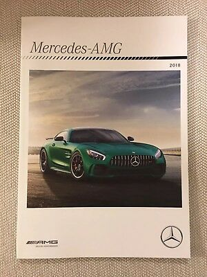 2018 MERCEDES AMG 62-page Original Sales Brochure