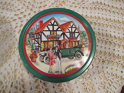 """12--  BISCUIT  TIN   7  1/2  """"  x  2  3/4    """"  High  --IN  GOOD ORDER"""