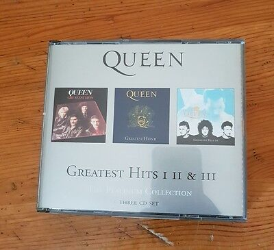 Cd Queen platinum collection