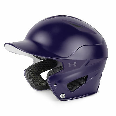 Under Armour Converge Solid Adult Baseball/Softball Batting Helmet - Purple