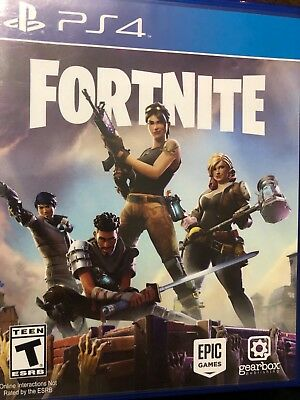 Fortnite PS4 hard copy!!