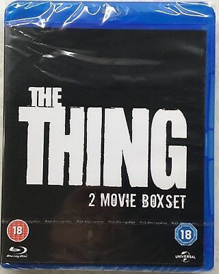 The Thing 1982+Thing 2011 Blu ray Double Feature Brand New Sealed