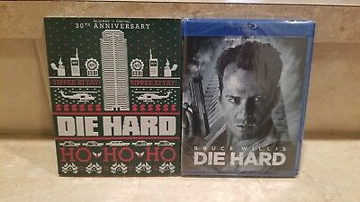 Die Hard (Blu-Ray + Digital) with Slipcover (30th Anniversary Edition) NEW