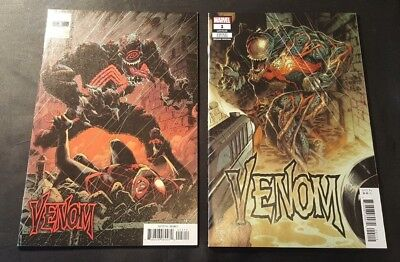 VENOM 1 and 3 VARIANTS KEY 1ST APP OF KNULL GOD OF SYMBIOTES NM RARE NOT 2 3