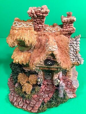 """Boyds Bear Village """"Bailey's Cozy Cottage"""" House MIB Style 10902 + 3 accessories"""