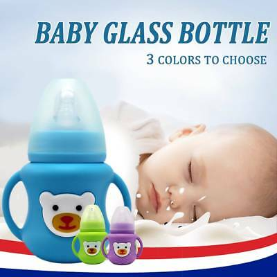 Silicone case Baby Bottle Infant Grip Handle Avent Natural Wide Mouth Feeding