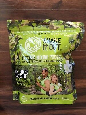 Shake It Out flexible mixing pouches, 7 count, camo