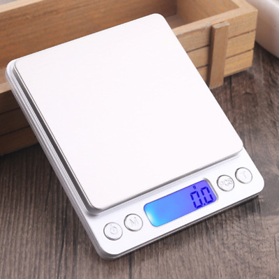 Electronic 3000g 0.1g 500g 0.01g Mini Digital Gold Jewelry Food Weighing Scale