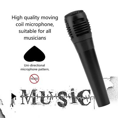 New 1.5M Professional Wired Microphone Dynamic Handheld Cable Uni-directional nt