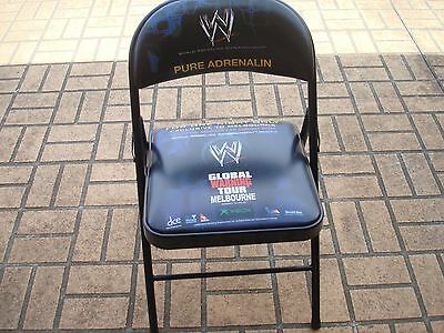 Wwe Global Warning Tour Chair....