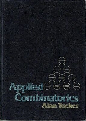 Applied Combinatorics by Tucker Alan - Book - Hard Cover - Maths/Physics