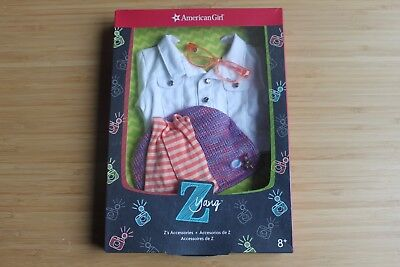 American Girl Z Yang's 18'' jacket doll accessories out-pack will not included