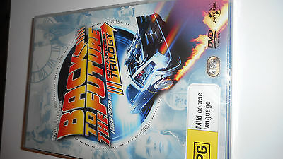Back To The Future Trilogy Dvd Set,brand New Sealed