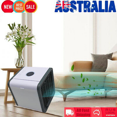 Portable Mini Air Conditioner Cool Cooling For Bedroom Arctic Air Cooler Fan BO
