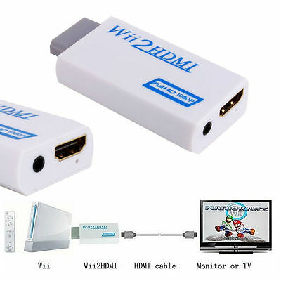 Wii To Hdmi Adapter Wii2Hdmi Output 1080P 720P Converter 3.5Mm Audio Full Hd As