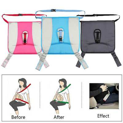 Useful Pregnant Safety Belt Adjuster Device Driving Protection Car Seat Cushion