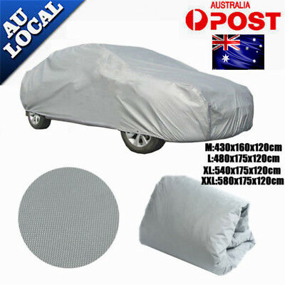 4 SIZE-Universal Car Cover Anti Waterproof Dust Scratch UV Resistant Rain Cover