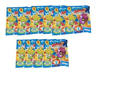 Superzings Rivals of Kaboom Series 2  10 packets new Super zings
