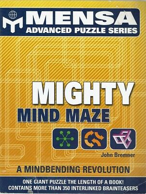 Mighty Mind Maze by Bremner John - Book - Pictorial Soft Cover - Maths/Physics