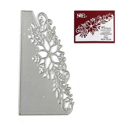 Metal Dies Set Scrapbooking Xmas Cardmaking Decor Cutting Stitched Frames Hot